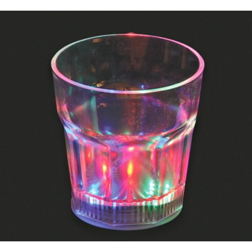 Cinco de Mayo Glow Lights L.E.D. Rocks Glass Image