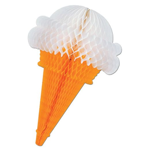 Spring & Summer Decorations Ice Cream Cone Image