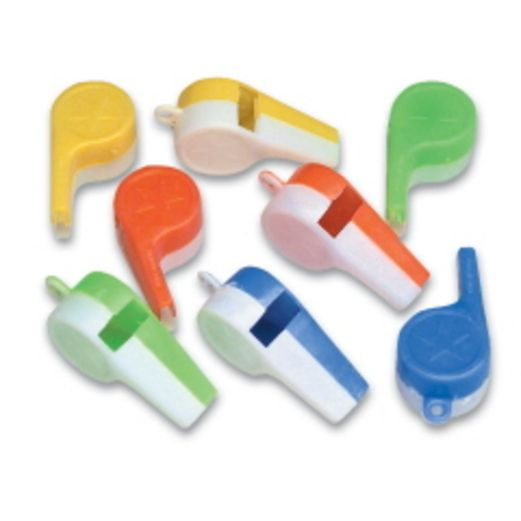 Favors & Prizes Plastic Whistles Image
