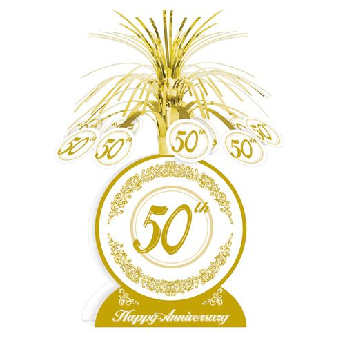 50th Anniversry Centerpiece