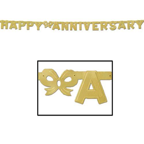 Gold Anniversary Streamer