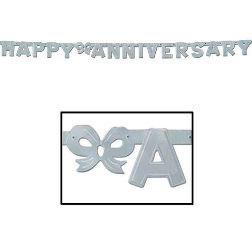 Silver Anniversary Streamer