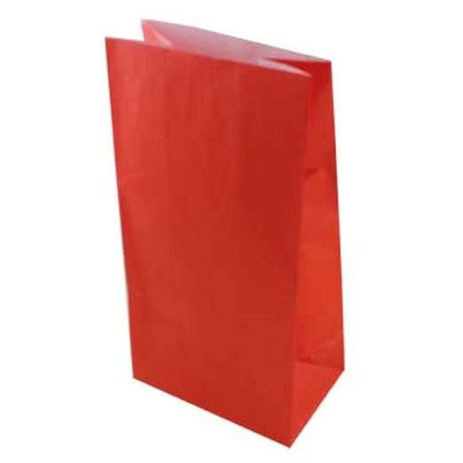 Valentine's Day Gift Bags & Paper Ruby Red Paper Sacks Image
