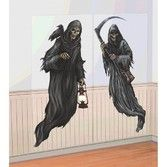 Halloween Decorations Grim Reaper Wall Props Image