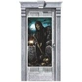 Halloween Decorations Cemetery Door Cover Image