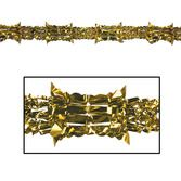 New Years Decorations Gold Metallic Garland Image
