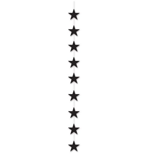 Decorations Black Star Stringer Image