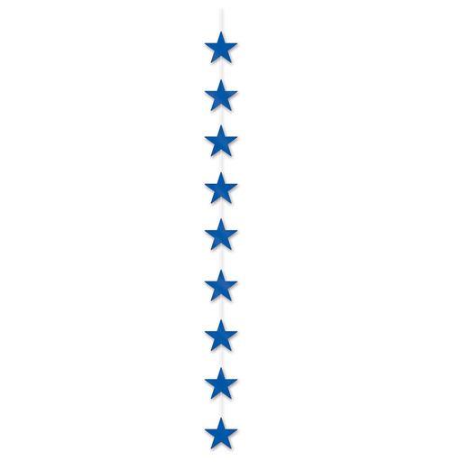 4th of July Decorations Blue Star Stringer Image