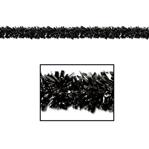 New Years Decorations Black Festoon Garland Image