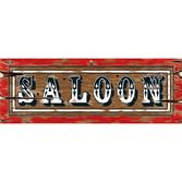 Western Decorations Saloon Sign Image