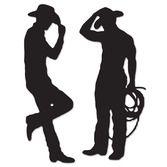 Decorations / Cutouts Cowboy Silhouettes Image