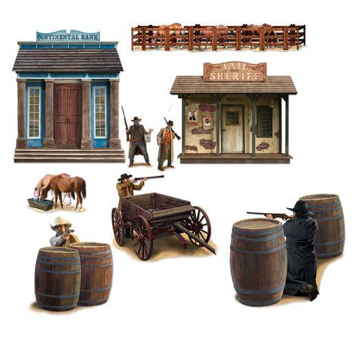 Western Decorations Wild West Shootout Props Image