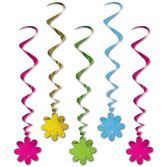 Decorations / Hanging Decorations Flower Whirls Image