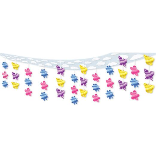 Mother's Day Decorations Butterfly Sky-Scape Image
