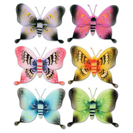"Mother's Day Decorations 17.5"" Majestic Butterfly Image"
