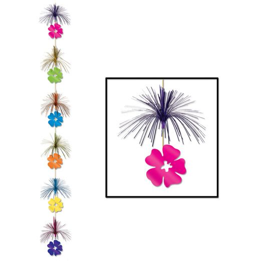 Mother's Day Decorations Hibiscus Firework Stringer Image