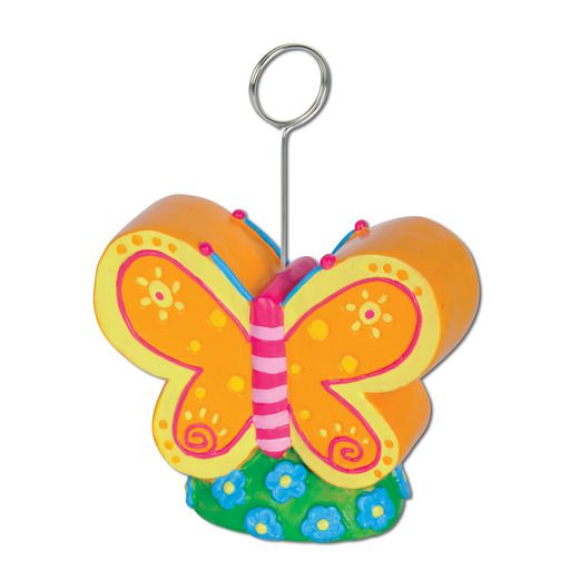 Mother's Day Decorations Butterfly Photo Balloon Holder Image
