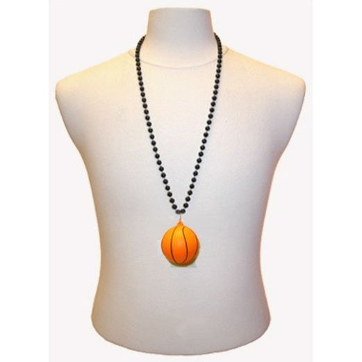 Sports Party Wear 33 Inch Basketball Necklace Image