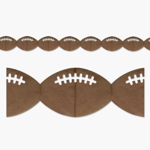 Sports Decorations Football Garland Image