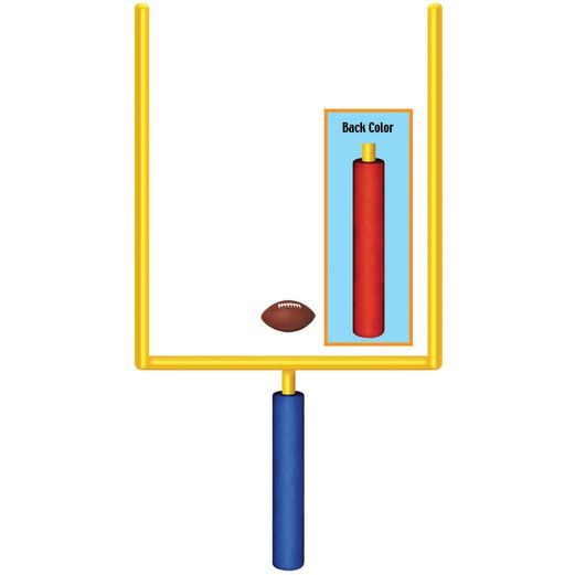 Sports Decorations Goal Post Cutout Image