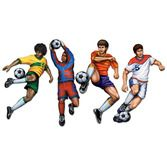 Sports Decorations Soccer Cutouts Image