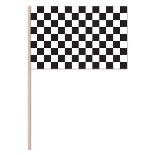 Plastic Checkered Flags 11x17