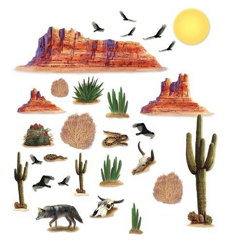 Wild West Desert Props