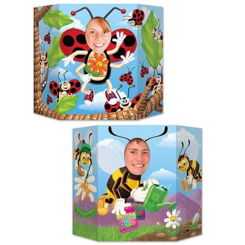Ladybug and Bumblebee Photo Prop