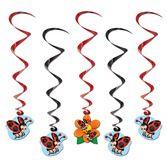 Spring & Summer Decorations Ladybug Whirls Image