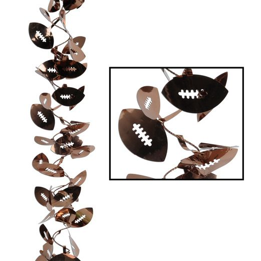 Decorations / Banners & Garlands Football Wire Garland Image