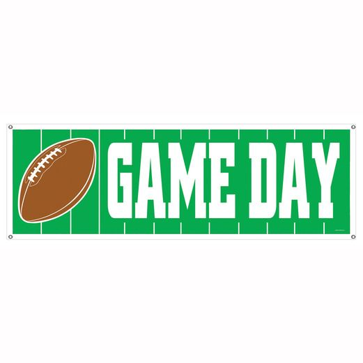 Sports Decorations Game Day Sign Banner Image