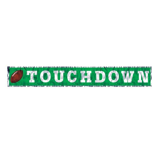 Sports Decorations Metallic Touchdown Banner Image