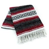 Serapes & Blankets Red Mexican Blanket Image