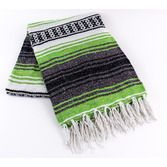 Fiesta Decorations Oasis Green Mexican Blanket Image