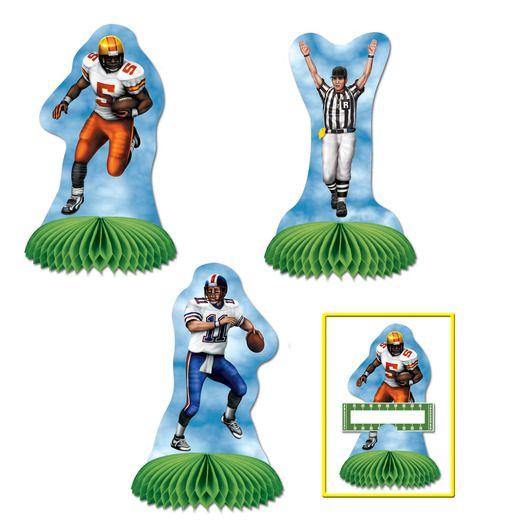 Sports Decorations Football Playmates Image
