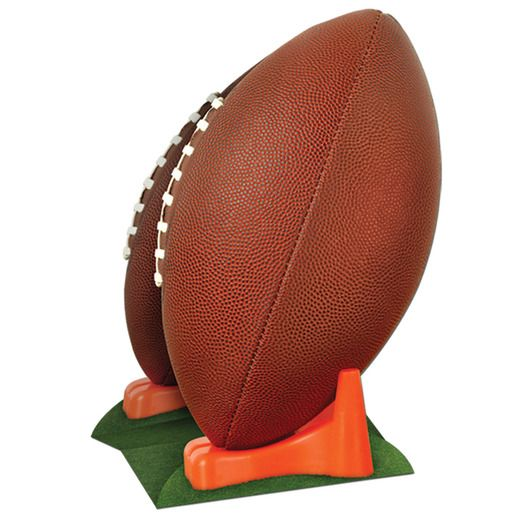 Sports Decorations 3-D Football Centerpiece Image