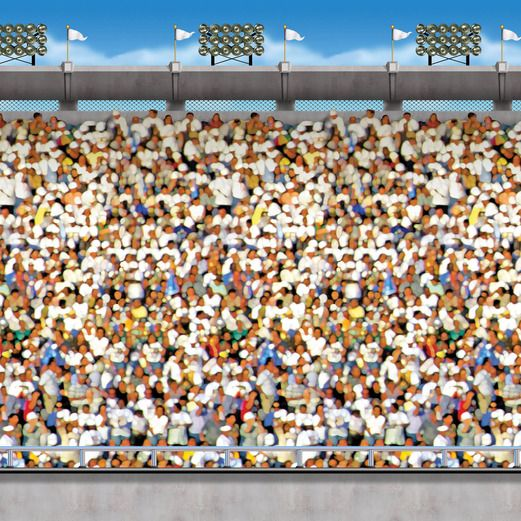 Sports Decorations Upper Stadium Backdrop Image