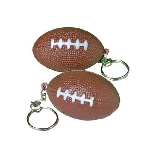 Sports Favors & Prizes Foam Football Keychains Image