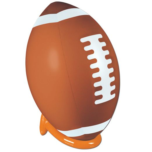 Sports Favors & Prizes Football Inflate & Tee Set Image