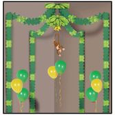 Decorations / Scenes & Props Jungle Monkey Party Canopy Image