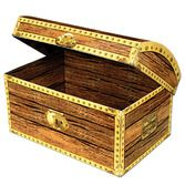 Pirates Decorations Treasure Chest Box Image