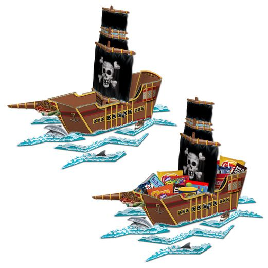 Pirates Decorations Pirate Ship Centerpiece Image