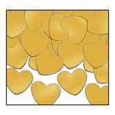Wedding Decorations Gold Hearts Confetti Image