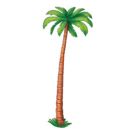 Luau Decorations Palm Tree Cutout Image