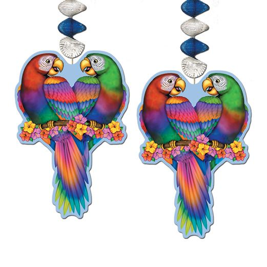 Cinco de Mayo Decorations Tropical Bird Danglers Image