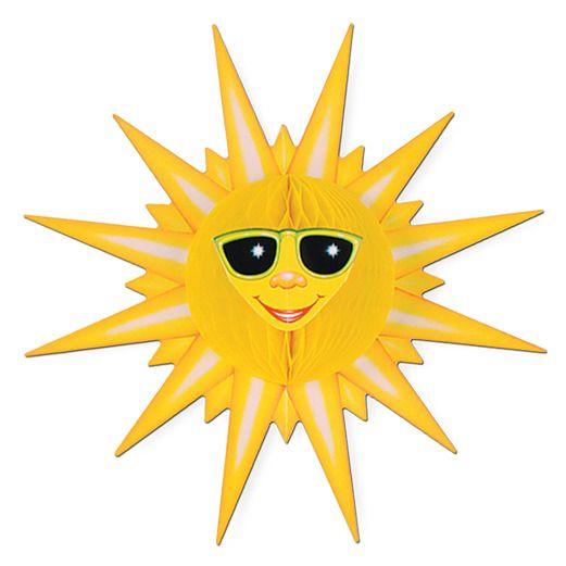 Cinco de Mayo Decorations Tissue Sunburst Image