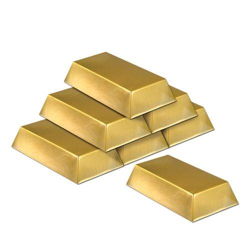 Gold Bar Decorations