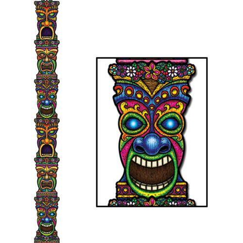 Jointed Tiki Totem Pole