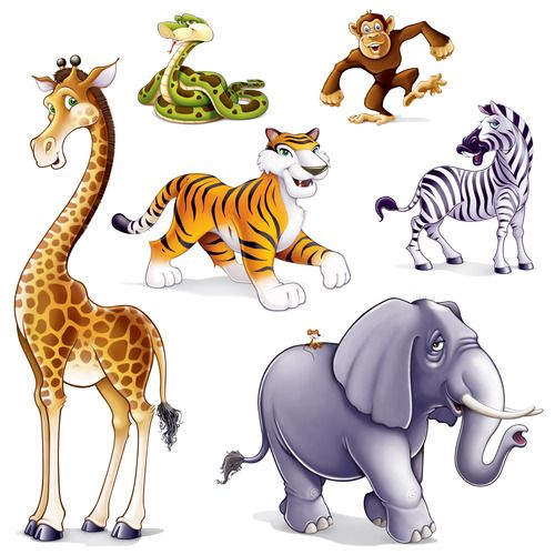 Jungle Animal Props