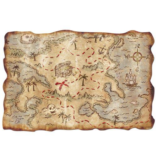 Plastic Treasure Map